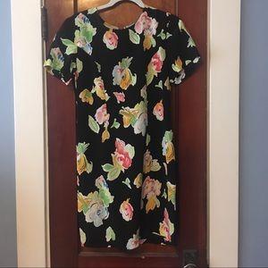 Vintage floral dress bought at a flea in France!